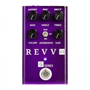 Revv G3 Overdrive and Distortion Pedal