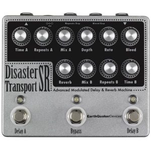 EarthQuaker Devices Disaster-Transport-SR-Modulated Delay and Reverb