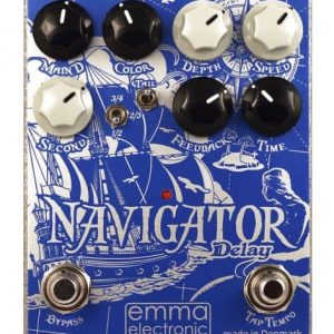 Emma Electronic Navigator Delay Pedal